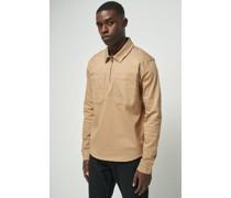 Half Zip Pocket Shirt