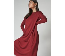 Trapeze Midi Dress