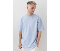 100% Recycled Short Sleeve Oversized Sweatshirt