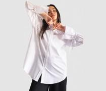 100% Organic Tie Cuff Oversized Poplin Shirt
