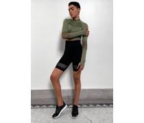 High Waist Mesh Shorts