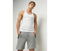 Bonded Slim Fit Shorts