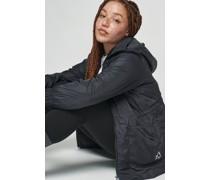 100% Recycled Hooded Windbreaker Jacket