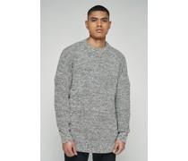 Slouchy Lightweight Mixed Yarn Sweater