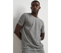 100% Recycled Roll Hem Knitted T-shirt