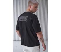 100% Recycled Horizon Oversized T-shirt