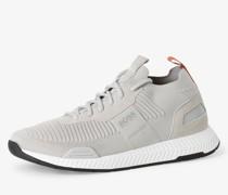 Sneaker mit Leder-Anteil - Titanium_Runn_knst1