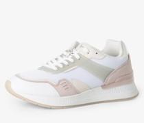 Sneaker mit Leder-Anteil