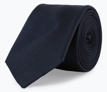 Seidenkrawatte mit Krawattenklammer