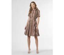 Kleid mit Leinen-Anteil
