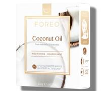 Coconut Oil UFO/UFO Mini Nourishing Face Mask for Dry Skin (6 Pack)