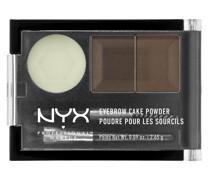 Eyebrow Cake Powder - Dark Brown/ Brown