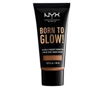 Born to Glow Naturally Radiant Foundation 30ml (Various Shades) - Mahogany