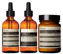 Mandarin Facial Cream, Parsley Seed Serum and Lightweight Serum Bundle