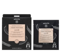 Express Beauty Black Tissue Face Mask Detox and Purifying with Carob 20ml