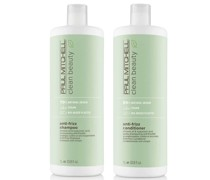 Clean Beauty Anti-Frizz Shampoo and Conditioner Supersize Set