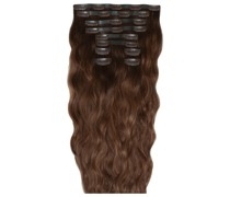 22 Inch Beach Wave Double Hair Extension Set (Various Shades) - Hot Toffee