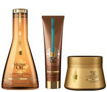 L'Oréal Professionnel Mythic Oil Shampoo, Masque and Oil Crème Universelle Trio for Fine Hair