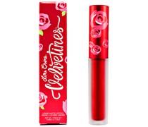 Metallic Velvetines Lipstick (Various Shades) - Red Hot