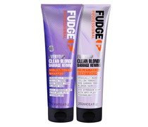 Clean Blonde Everyday Violet Damage Rewind Purple Shampoo and Conditioner Duo