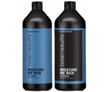 Total Results Moisture Me Rich Shampoo and Conditioner (1000ml)