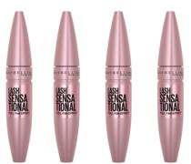 Lash Sensational Volumising and Thickening Eyelash Lengthening Mascara - 01 Very Black (Pack of 4)