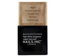 Plant Power Nail Varnish Top Coat 14ml