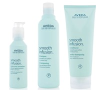 glättendes Haarpflege Trio Smooth Infusion Shampoo, Conditioner & Style Prep Smoother
