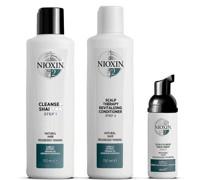 3-teiliges System 2 Trial Kit für natürliches Haar mit fortgeschrittener Ausdünnung