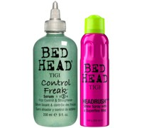 Bed Head Shiny Hair Styling Set for Smooth Shiny Hair