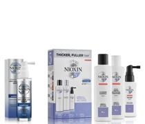 3-teiliges System 5 Testpaket für chemisch behandeltes Haar mit leichter Ausdünnung Kit