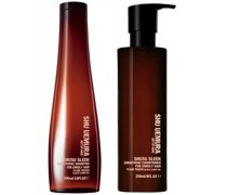 Shusu Sleek Shampoo (300ml) und Spülung (250ml)