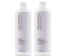 Clean Beauty Repair Shampoo and Conditioner Supersize Set