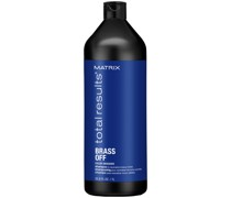 Total Results Brass Off Brunette Blue Shampoo for Lightened Brunette Hair 1000ml
