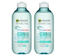 Pure Active Micellar Water Facial Cleanser Oily Skin 400ml Duo Pack