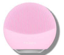LUNA Mini 3 Dual-Sided Face Brush for All Skin Types (Various Shades) - Pearl Pink
