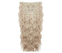 22 Inch Beach Wave Double Hair Extension Set (Various Shades) - L.A. Blonde
