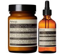 Mandarin Facial Cream and Lightweight Serum Duo