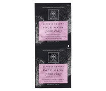 Express Gentle Cleansing Face Mask - Pink Clay 2x8ml
