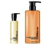 Cleansing Oil Shampoo für Trockene Kopfhaut (400ml) und Spülung (250ml)