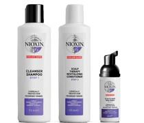 3-teiliges System 6 Trial Kit für chemisch behandeltes Haar mit fortgeschrittener Ausdünnung