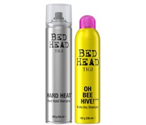 Bed Head Hair Styling Set with Dry Shampoo and Hairspray
