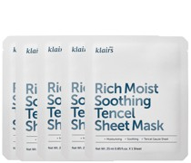 Rich Moist Soothing Tencel Sheet Mask (Pack of 5)