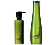 Silk Bloom Shampoo (300ml) und Spülung (250ml)