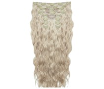 22 Inch Beach Wave Double Hair Extension Set (Various Shades) - Champagne Blonde