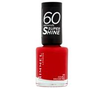 60 Seconds Super Shine Nail Polish 8 ml (verschiedene Farbtöne) - Double Decker Red