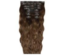 22 Inch Beach Wave Double Hair Extension Set (Various Shades) - Dubai