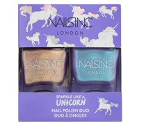 Sparkle Like a Unicorn Nail Varnish Duo Kit 2 x 14ml