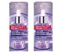 Exclusive Revitalift Filler with 1.5% Hyaluronic Acid Anti-Wrinkle Dropper Serum Duo 2 x 30ml