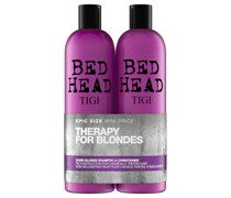 Bed Head Dumb Blonde Repair Shampoo and Reconstructor for Coloured Hair 2 x 750ml
